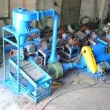 정밀한 고무 분쇄기 기계를 재생하는 폐기물 타이어