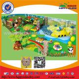 Matériel en plastique de cour de jeu de thème de forêt de gosses d'intérieur chauds de vente