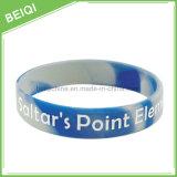 Wristband силикона фабрики дешевой напечатанный таможней при Multi смешанный цвет