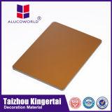 Alucoworldセリウムによって証明される中国の製造者ACPの壁に取り付けられた広告のボードカラーシート