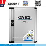 Portátil Parede-Montar a caixa chave de Tag chaves do metal 24 para a HOME