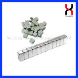 Kleines Block-Magnet-Zink/Nickel überzogener Magnet