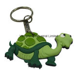 주문 고무 Keychain