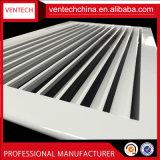 La ventilación de escape de aluminio de deflexión de la única rejilla de aire