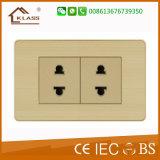 Interruptor pequeno da parede da tecla da maneira 1gang 1 elétrica Home
