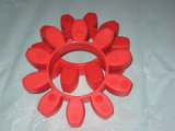 Araignée de couplage d'unité centrale du couplage en caoutchouc flexible de Shalf, couplage de T, Mt, couplage de H