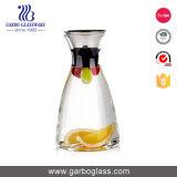 900ml heet verkoop de Karaf van het Glas van Borosilicate van het Deksel van het Roestvrij staal