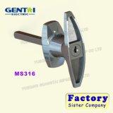 Chapa de hierro de aluminio de la competencia de bloqueo de la empuñadura de puerta