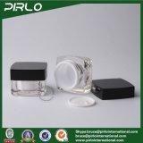 15g高品質のアクリルのプラスチック正方形のサンプル装飾的な構成の瓶の容器の目のクリームの瓶