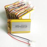 cella dello ione del Li della batteria ricaricabile di Lipo della batteria del polimero del litio di 3.7V 1500mAh 803450