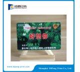 O cartão personalizado do VIP imprimiu em China