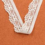 Фабрика шнурка тканья ткани картины листьев в Гуанчжоу