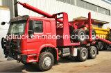 HOWO 갱도지주 수송 트럭 로그 운반대 트럭
