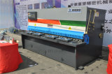 Máquina que pela de la guillotina hidráulica del CNC de la serie de QC11k