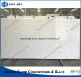 カラーラの工場価格(大理石カラー)の台所カウンタートップのための白い水晶石の平板