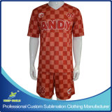 Custom Sublimation Quick Dry Confortável Team Team Soccer Apparel