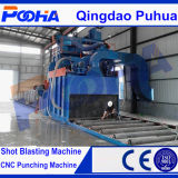 Machine de sablage de convoyeur à rouleaux CE Q69 Roller