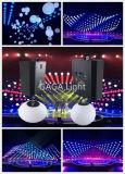 사건을%s 1개의 LED 단계 드는 공에 대하여 RGBW 4