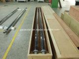 2m de longueur dépression parabolique verre-métal tube solaire