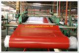 500psi alfombrilla de goma roja alfombra de hojas///placa de láminas