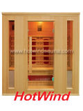 Sauna di legno portatile della nuova di Infrared lontano 2016 stanza di sauna per 4 genti (SEK-AP4)