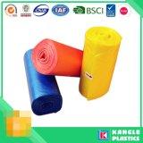 Benutzerdefinierte Einweg-Kunststoff HDPE LDPE Müllsack auf Rollen