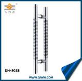 ガラスドアのハードウェアのステンレス鋼のガラスドアハンドル(DH-8038)