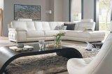 Sofá de cuero superior de la sala de estar (RC08)