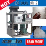 pro Tag energiesparende Speiseeiszubereitung-Maschine des Gefäß-5000kg