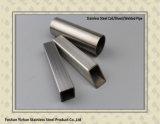 304 Hairline Roestvrij staal laste Vierkante Buis