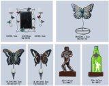 Varios tipos de encargo del metal de la pared del arte caliente adornos de venta de hierro