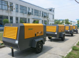500cfm accionadas por motor Diesel compresor de aire