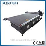 Máquina de estaca de vibração do assento de carro do laser da estaca da faca do CNC não