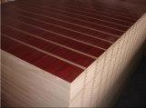Новая панель PVC Slatwall конструкции, доска шлица MDF