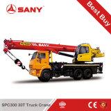 SanyのStc300sによってトラック取付けられるクレーン30トンのクレーン車の価格