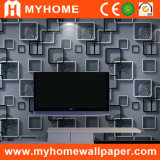 Chambre à coucher en PVC de matériaux de construction de papier peint en 3D