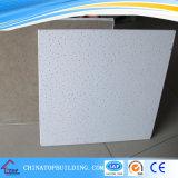 Tablero de techo de fibra mineral de borde cuadrado