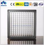Fábrica de melhor preço paralelo de cor-de-Rosa tijolo de vidro de boa qualidade/Bloquear