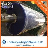 둥근 콘테이너에 사용되는 400 미크론 간격 PVC 투명한 장