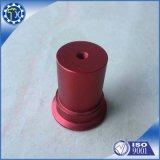 Parti anodizzate rosse su ordinazione di CNC lavorate alluminio