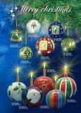 Керамические Рождество орнамент и Cearmic подарки, держатель в форме свечи