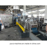 De tweeling Extruder van de Schroef en de Plastic Machine van het Recycling
