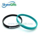 Kundenspezifisches Förderungwristband-Silikon-Armband für Verkauf