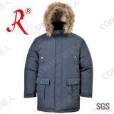 Vêtements d'hiver personnalisé /vêtement avec de la fourrure (QF-102)