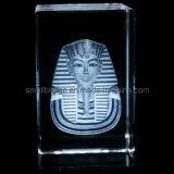 Regalo promocional del Pharaoh del regalo turístico cristalino del cubo