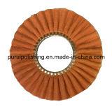 Roue de polissage de polissage de sisal de voie aérienne d'onde pour le métal