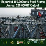 L'entrepôt d'acier préfabriqués à usage intensif