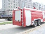 Dongfeng 800-1200 Gallons van de Vrachtwagen /Fire die van de Brand die Vrachtwagen bestrijden naar Myanmar wordt uitgevoerd