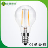 E27 E14 기본적인 Dimmable Non-Dimmable 운전사를 가진 G45 LED 필라멘트 전구