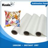 即刻コアラの工場供給優れた100gは染料の昇華転写紙を乾燥する